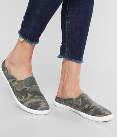Billabong Camo Canvas Mule Shoe