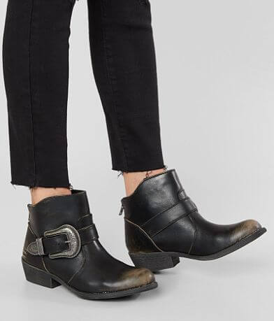 Billabong Buckle Up Distressed Ankle Boot