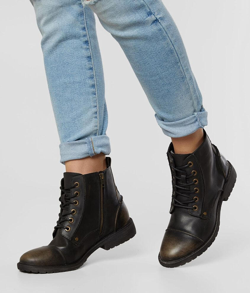 Billabong Willow Way Distressed Combat Boot front view