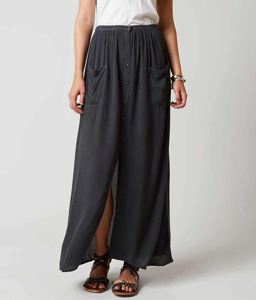 f12fd01db2 Billabong Honey Maxi Skirt - Women's Skirts in Off Black | Buckle