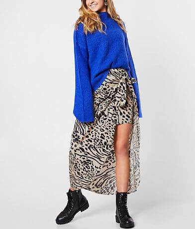 Billabong Sun Safari Midi Skirt