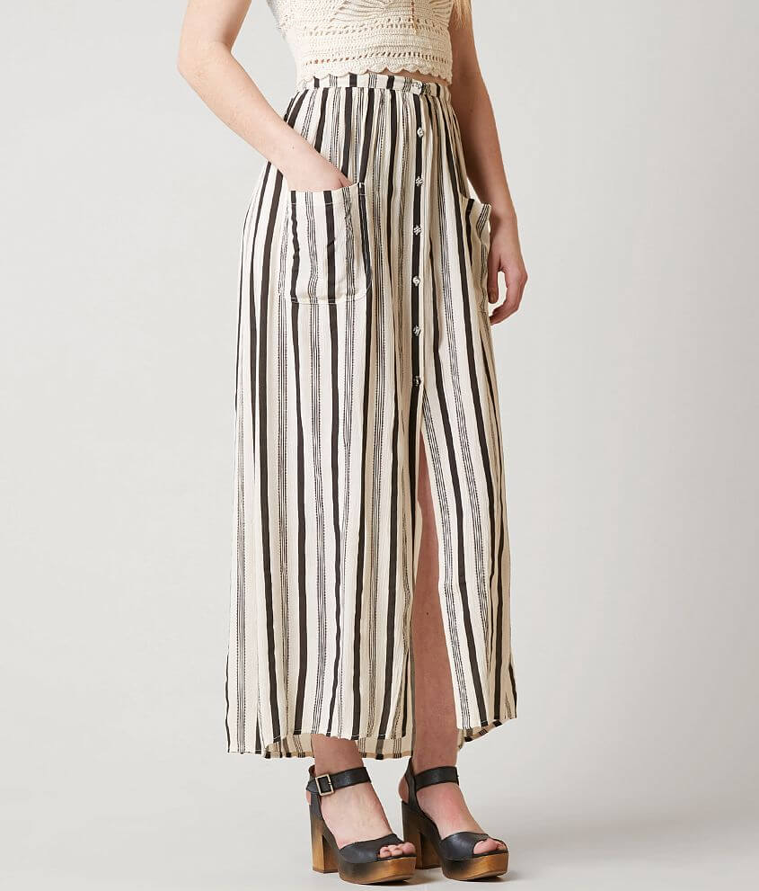 a5d9b72c27 Billabong Honey Maxi Skirt - Women's Skirts in Black White | Buckle