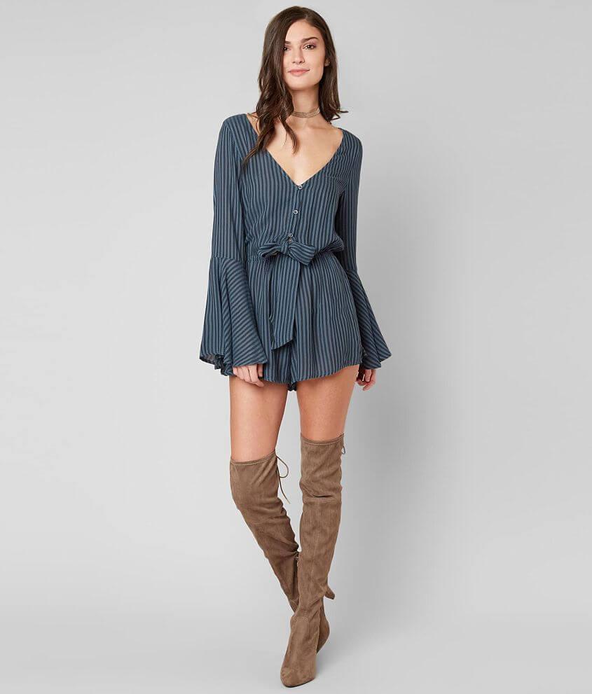 98bd5699a91 Billabong Sittin  Pretty Romper - Women s Rompers Jumpsuits in Blue ...