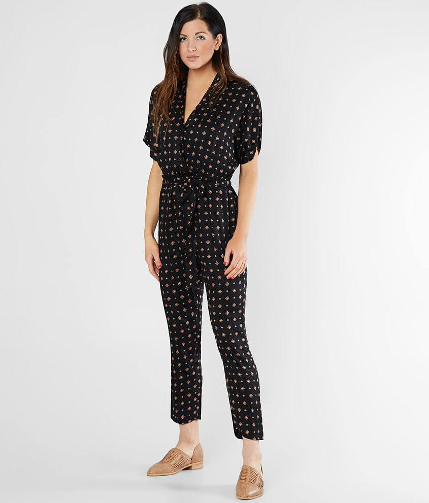 d9fb5d76964 Billabong Bed Story Woven Cropped Jumpsuit - Women s Rompers ...