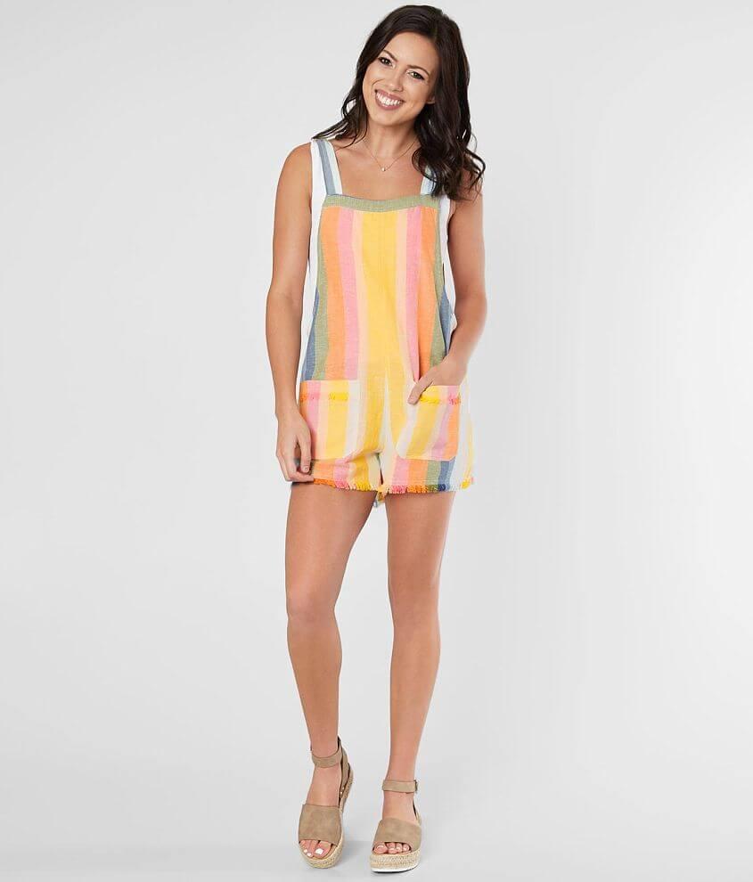 Billabong Girl On The Run Romper - Women's Rompers/Jumpsuits in Multi |  Buckle