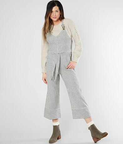 Billabong Bella Day Striped Overalls