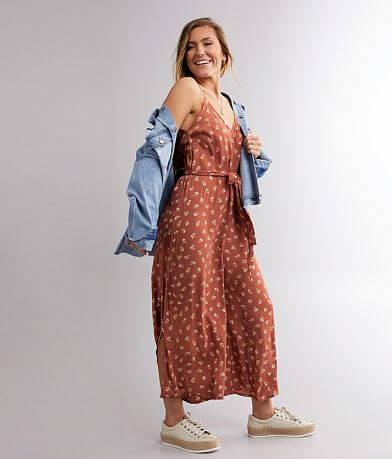 Billabong Shake It Again Wide Leg Jumpsuit