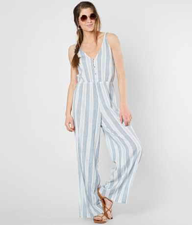 Billabong Wave Crasher Wide Leg Jumpsuit