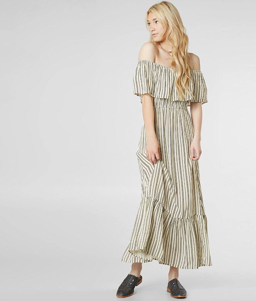 Style JD28NBIS/Sku 801984 Off the shoulder striped 48\\\