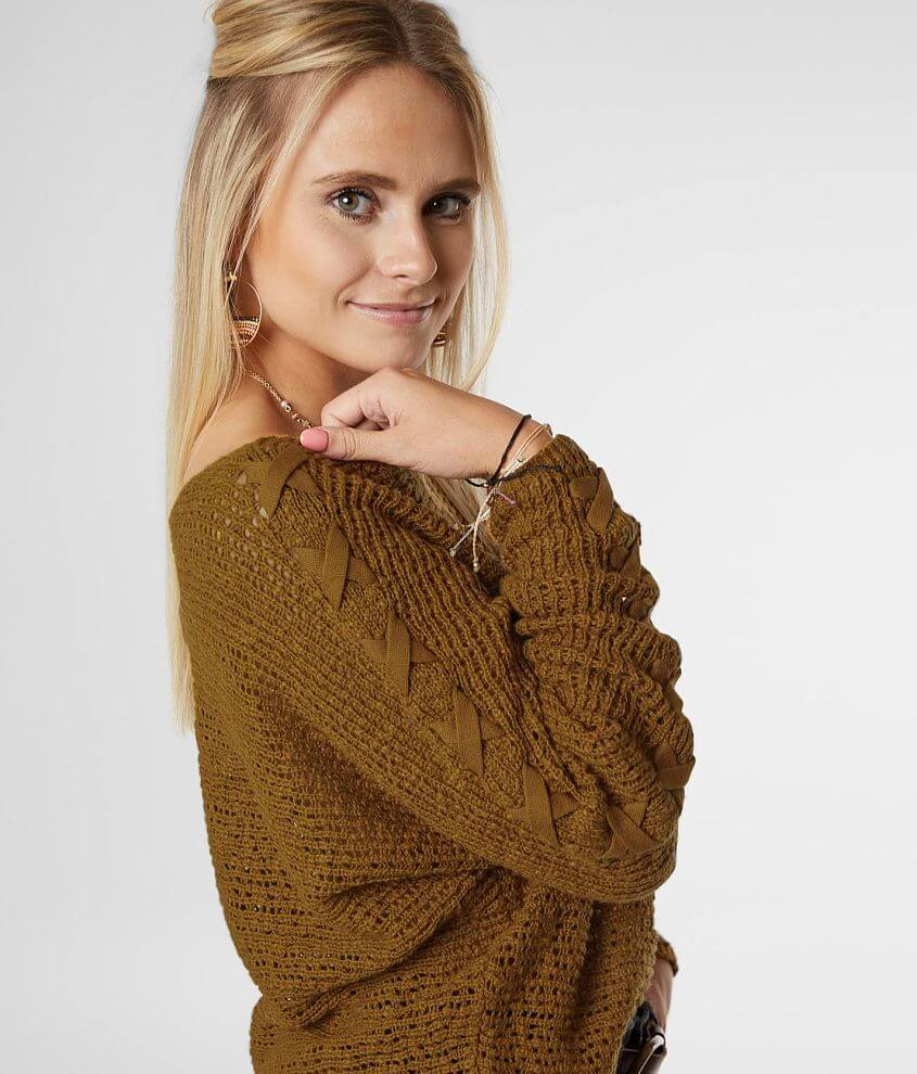 Billabong Chill Out Pullover Sweater front view