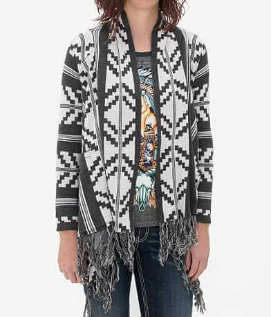 Billabong Travelin Moon Cardigan Sweater