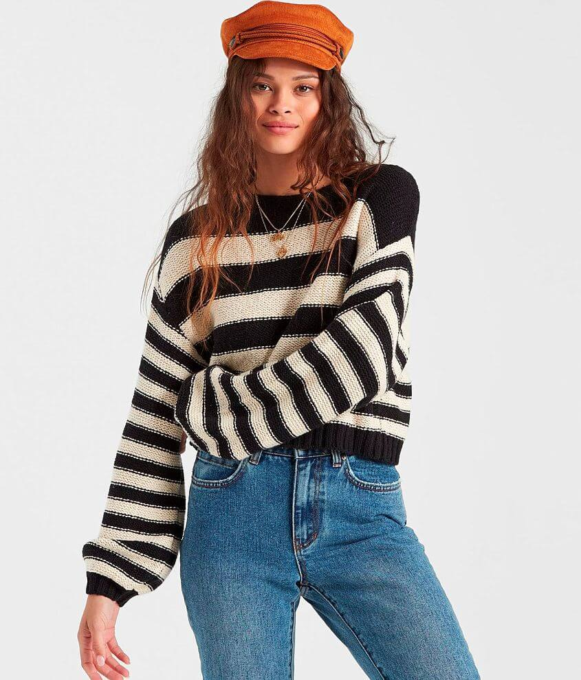 Billabong Seeing Stripes Pullover Sweater front view