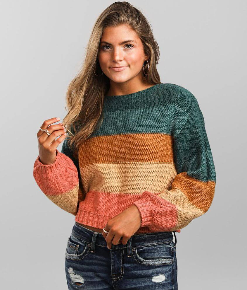 Billabong Seeing Stripes Sweater front view