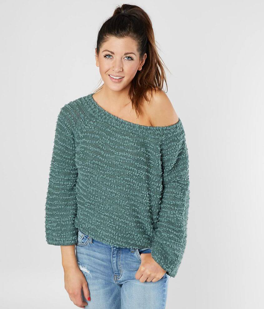 Billabong Off The Beat Nubby Sweater front view