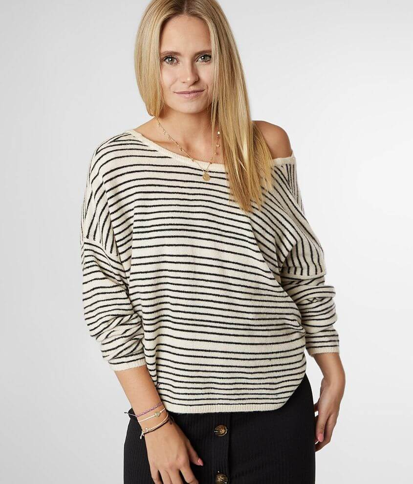 Billabong To The Limits Drop Shoulder Sweater front view