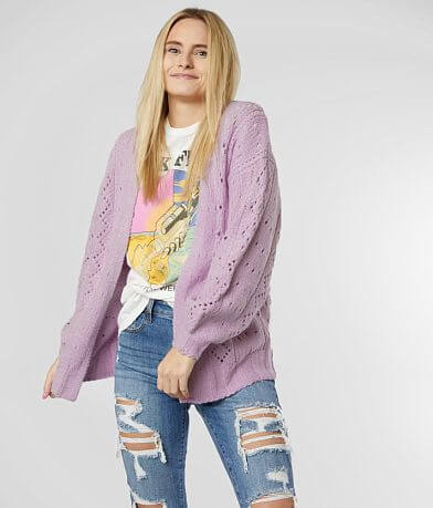 Billabong Blissed Out Cozy Cardigan Sweater