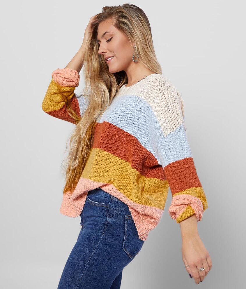 Billabong Lost Paradise Pullover Sweater front view