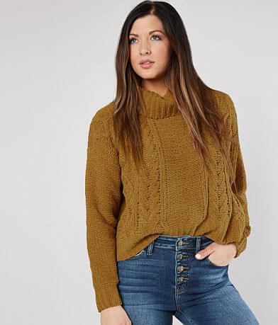 Billabong On A Roll Cowl Neck Sweater