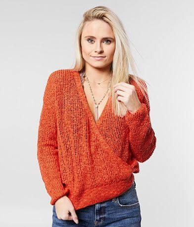 Billabong Sweet Bliss Surplice Sweater