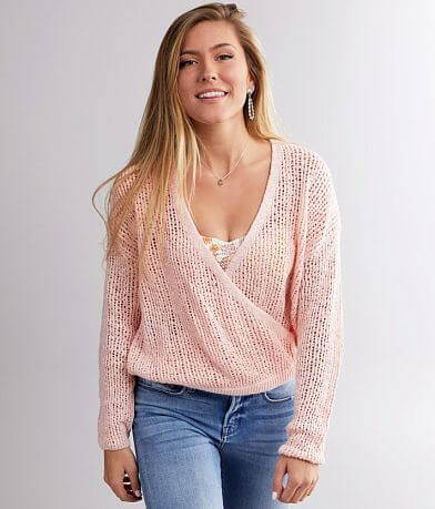 Billabong Sweet Bliss Surplice Sweater