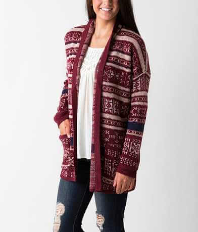 Billabong Aztec Trek Cardigan Sweater