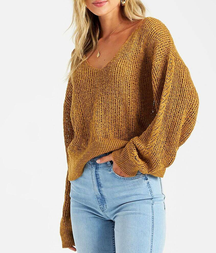 Billabong Feel The Breeze Sweater front view
