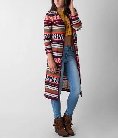 Billabong Shadow Stripe Duster Cardigan Sweater