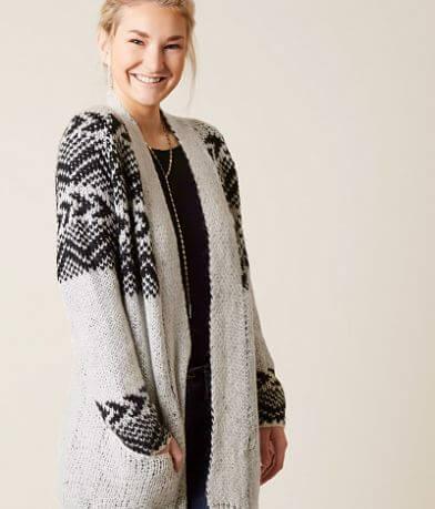 Billabong Snow Daze Cardigan Sweater