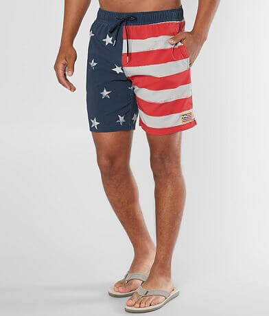 Billabong Sundays Layback Flag Stretch Boardshort
