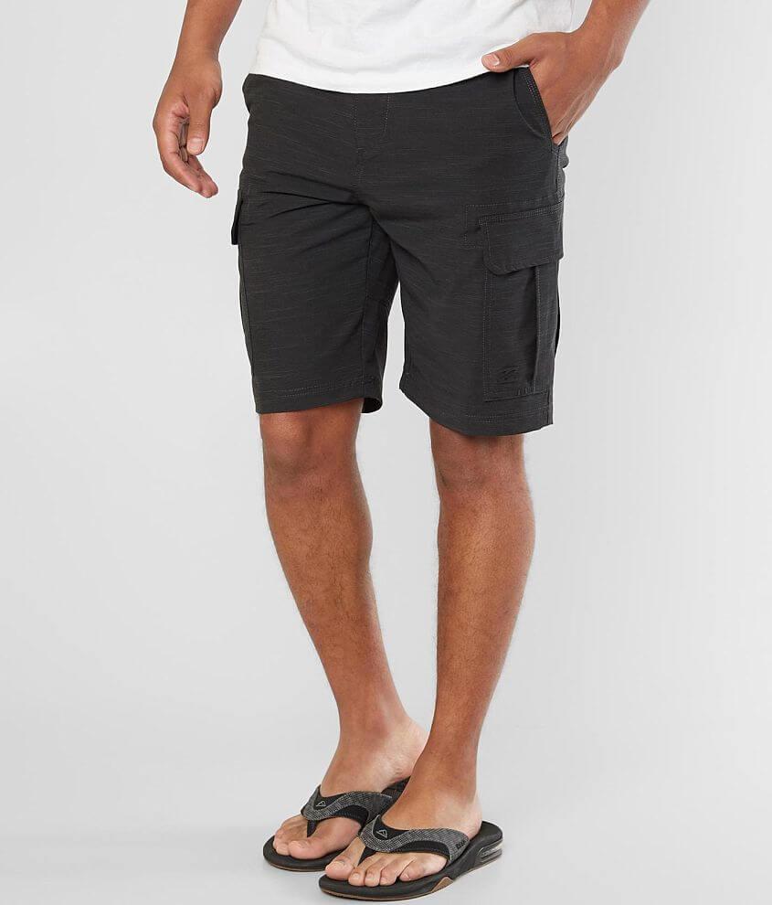 86a588ac21 Billabong Scheme X Cargo Stretch Walkshort - Men's Shorts in Black ...