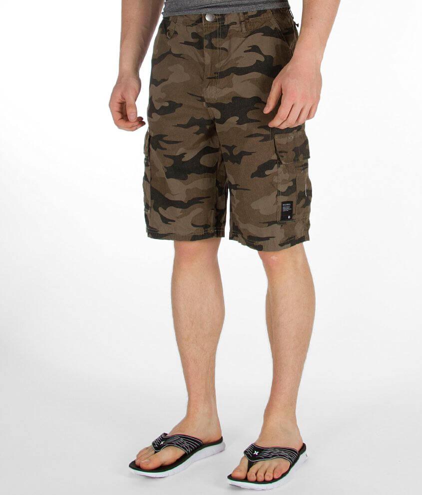 0bec6c201d Billabong Scheme Cargo Short - Men's Shorts in Military Camo | Buckle