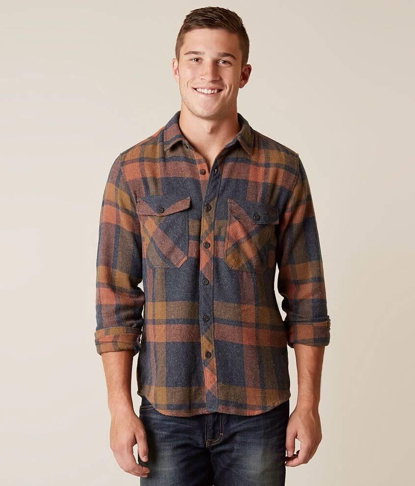 070ec5f0e Billabong Ventura Flannel Shirt - Men's Shirts in Navy | Buckle