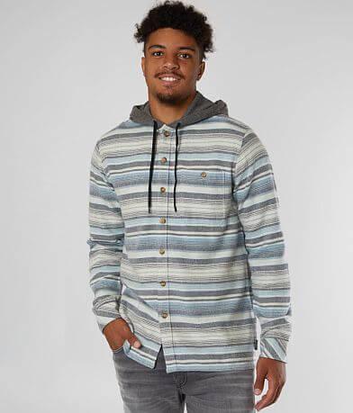 Billabong Baja Flannel Hooded Shirt