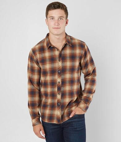 Billabong Coastline Flannel Stretch Shirt