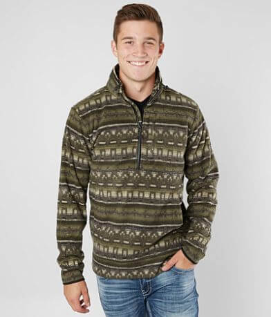 Billabong Boundary Mock Neck Sweatshirt