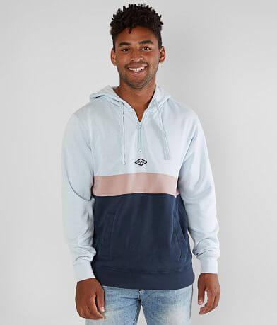Billabong Wave Washed Quarter Zip Sweatshirt