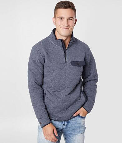 Billabong Boundary Quilted Mock Neck Pullover