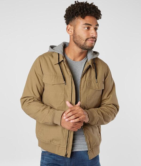 Jacket Hooded Billabong Twill Billabong Barlow Barlow xwCHHTanq
