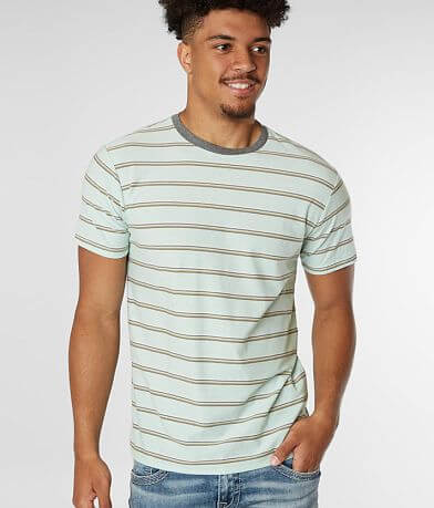 Billabong Dye Cut Striped T-Shirt