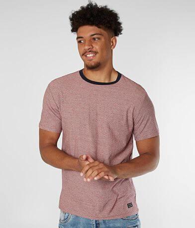 Billabong Dye Cut Striped T-Shirt