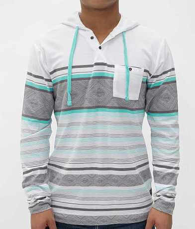 Billabong Crossed Henley Hoodie