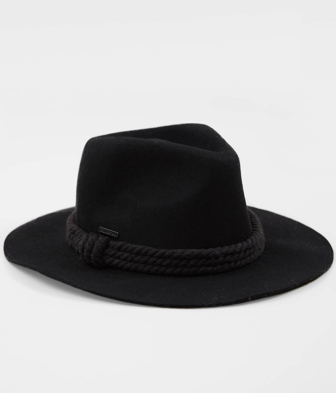ef259fff5bd36f Billabong Roped In Panama Hat - Women's Accessories in Black   Buckle
