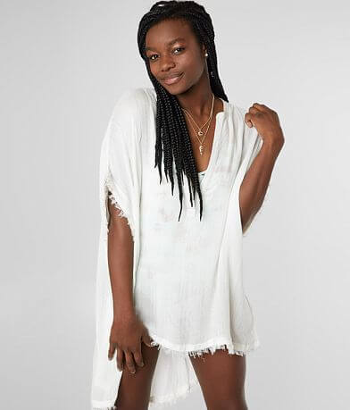 Billabong Seek & Find Cover-Up Tunic Top