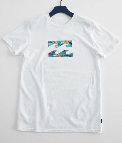 Boys - Billabong Team Wave T-Shirt