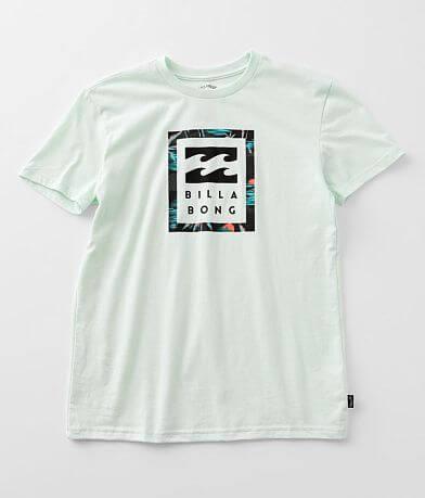 Boys - Billabong United Stacked T-Shirt