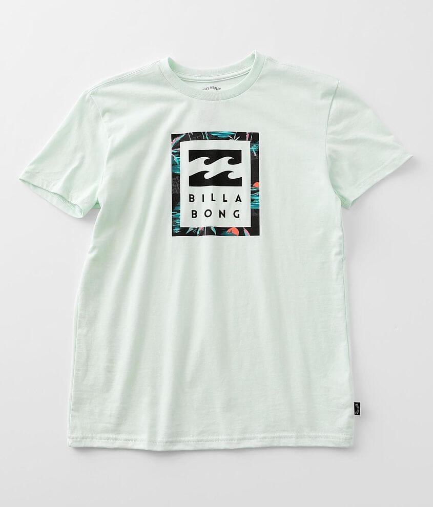 Boys - Billabong United Stacked T-Shirt front view