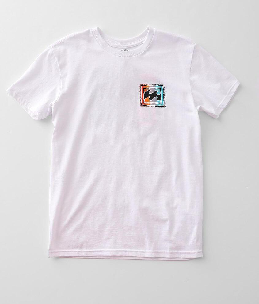 Boys - Billabong Crayon Wave T-Shirt front view
