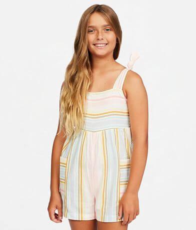 Girls - Billabong Hey Cutie Striped Romper
