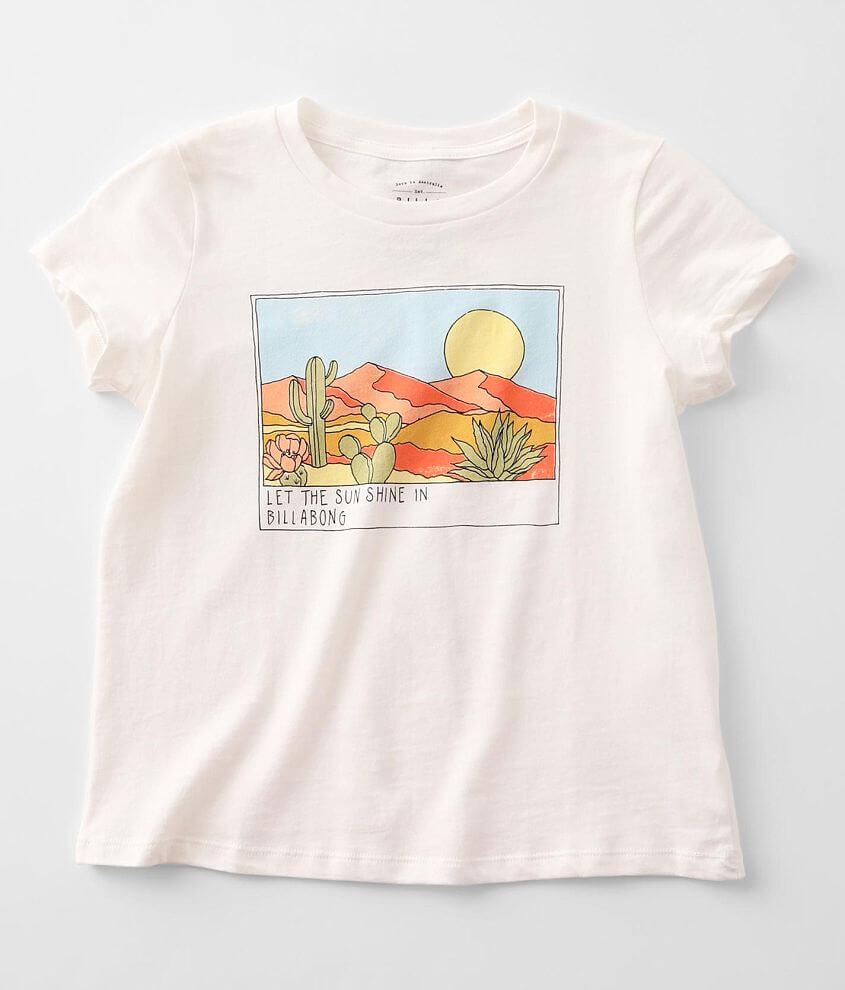 Girls - Billabong Sunny Skies T-Shirt front view