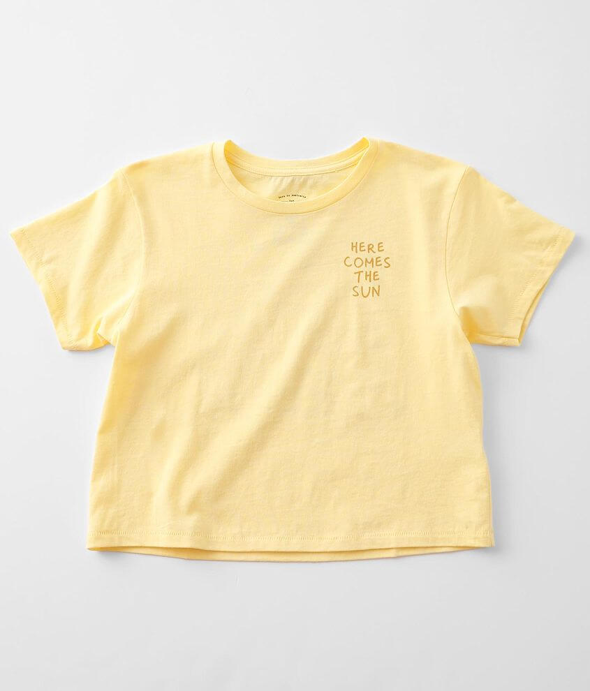 Girls - Billabong Here Comes The Sun T-Shirt front view